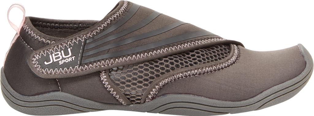 Women's Jambu JBU Sport Mermaid III Water Ready Shoe, Grey Neoprene/Mesh/Microbuck, large, image 2
