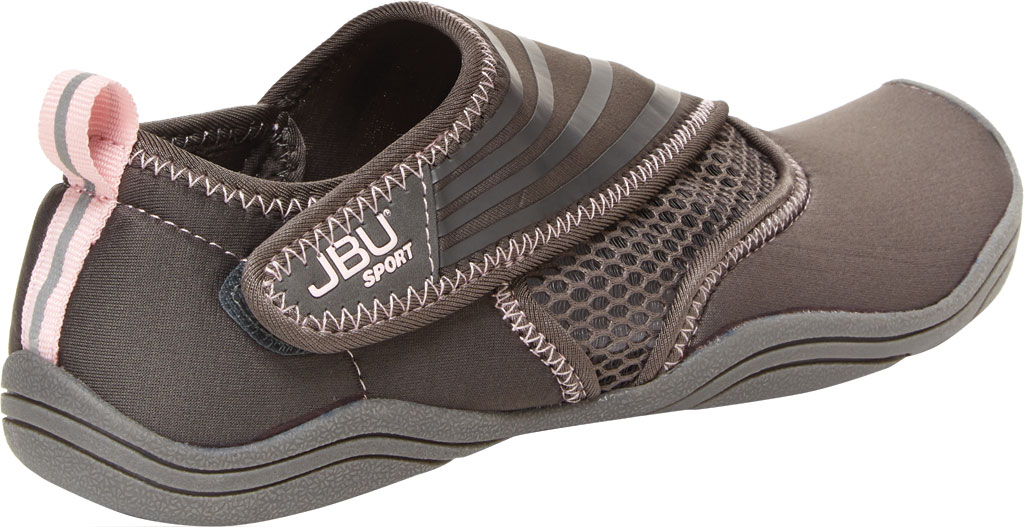 Women's Jambu JBU Sport Mermaid III Water Ready Shoe, Grey Neoprene/Mesh/Microbuck, large, image 4