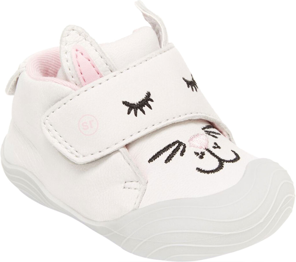 Infant Girls' Stride Rite SR Campbell Bootie, Bunny Leather, large, image 1