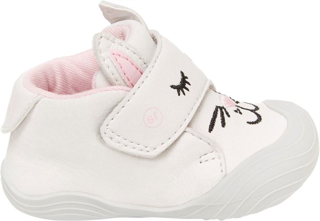 Infant Girls' Stride Rite SR Campbell Bootie, Bunny Leather, large, image 2