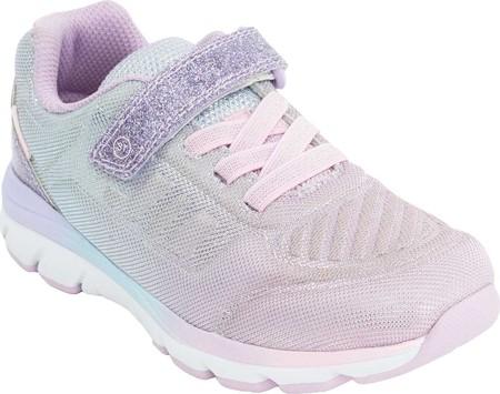 Girls' Stride Rite M2P Cora Sneaker, Pastel Multi Textile, large, image 1