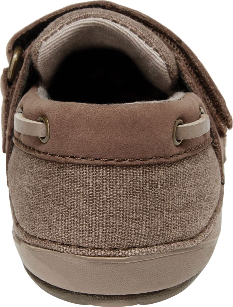Infant Boys' Stride Rite SM Wally Slip On, Brown Leather/Canvas, large, image 3