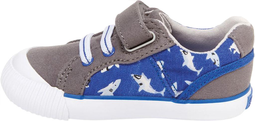 Infant Boys' Stride Rite SR Parker Sneaker, Grey Multi Textile, large, image 3