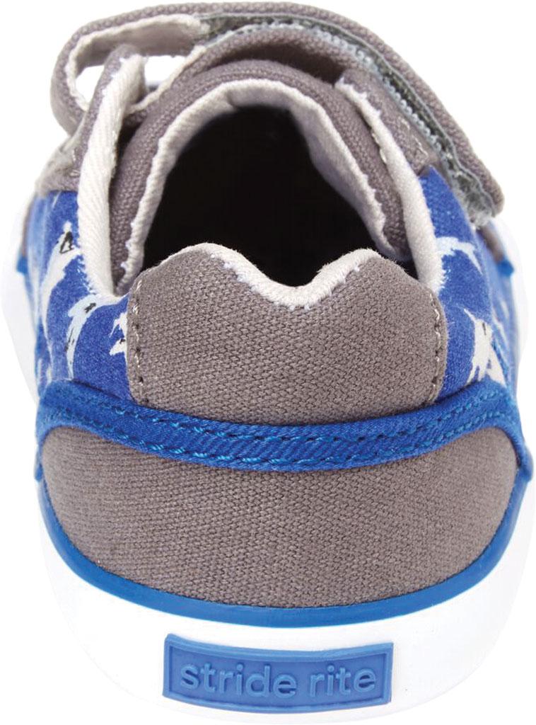 Infant Boys' Stride Rite SR Parker Sneaker, Grey Multi Textile, large, image 4