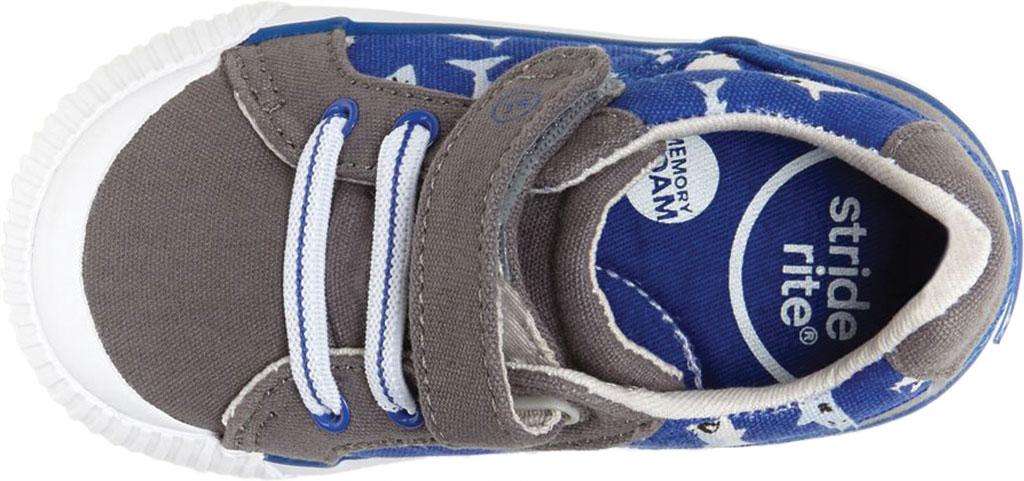 Infant Boys' Stride Rite SR Parker Sneaker, Grey Multi Textile, large, image 5