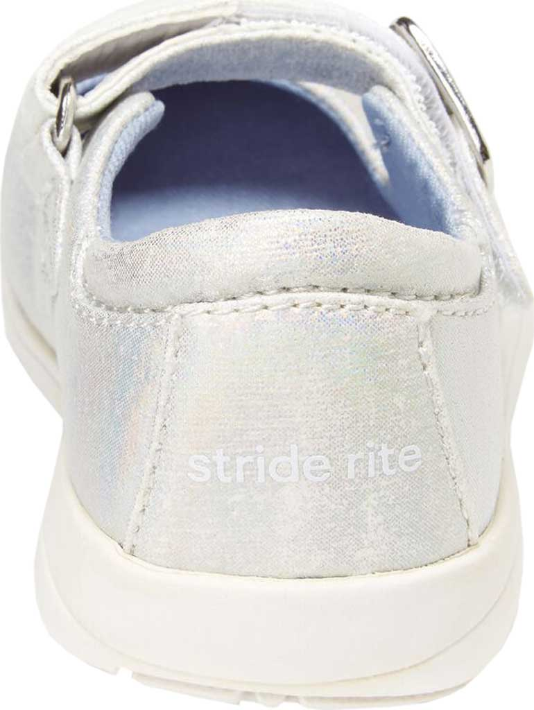 Girls' Stride Rite SR Reagan Mary Jane, Iridescent Glitter Textile, large, image 4