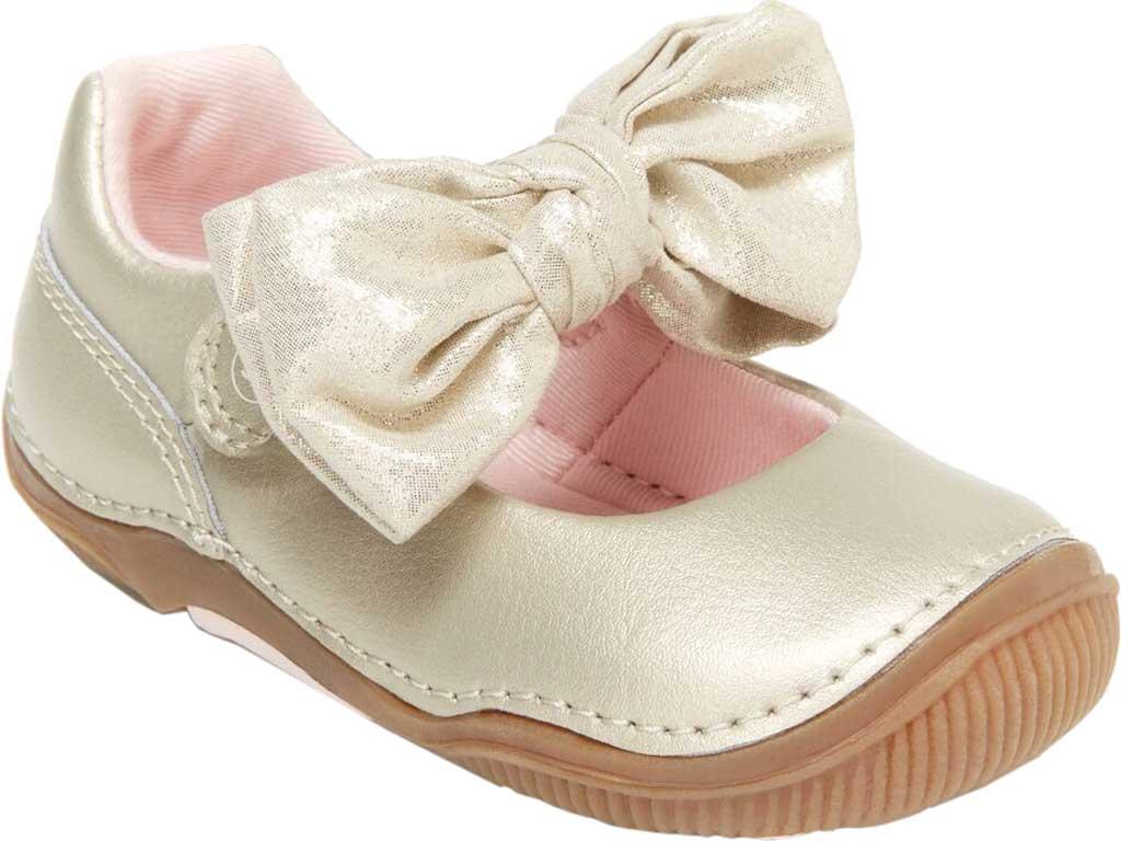 Infant Girls' Stride Rite SRT Henley Mary Jane, Champagne Leather, large, image 1