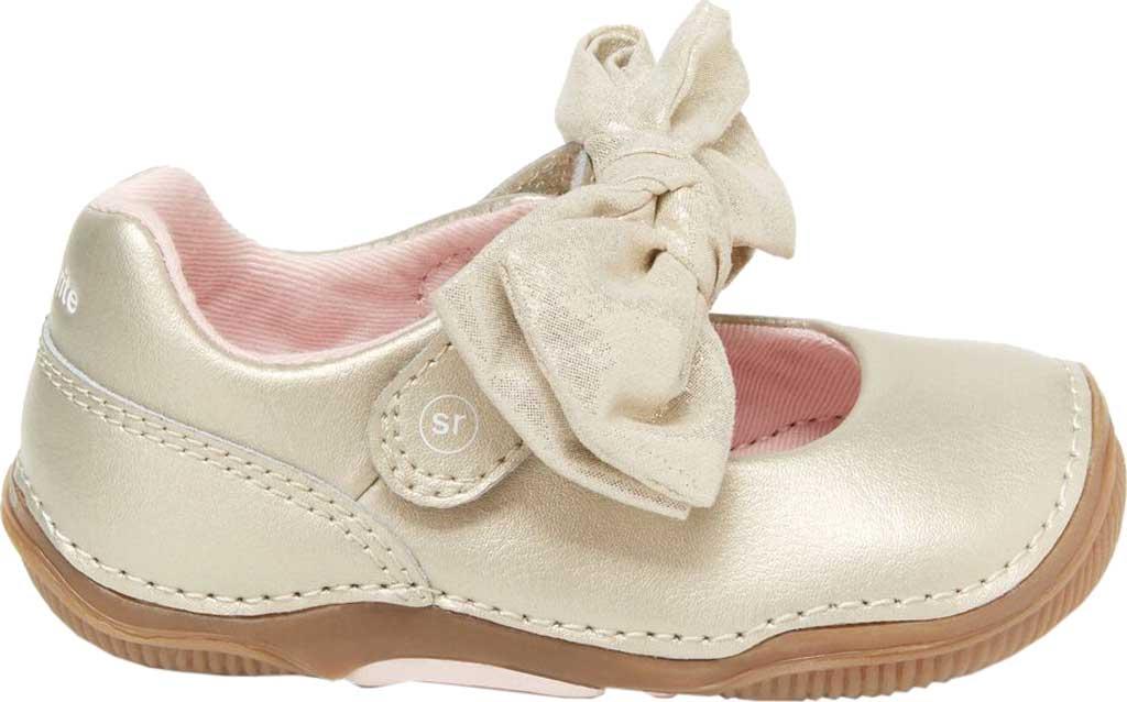 Infant Girls' Stride Rite SRT Henley Mary Jane, Champagne Leather, large, image 2