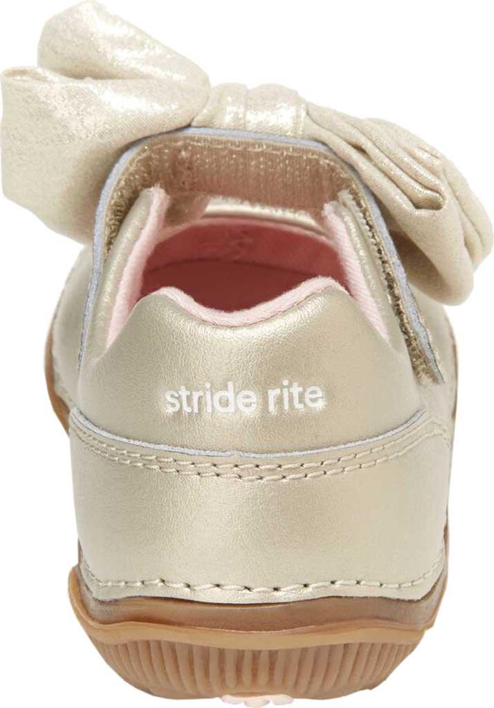 Infant Girls' Stride Rite SRT Henley Mary Jane, Champagne Leather, large, image 4