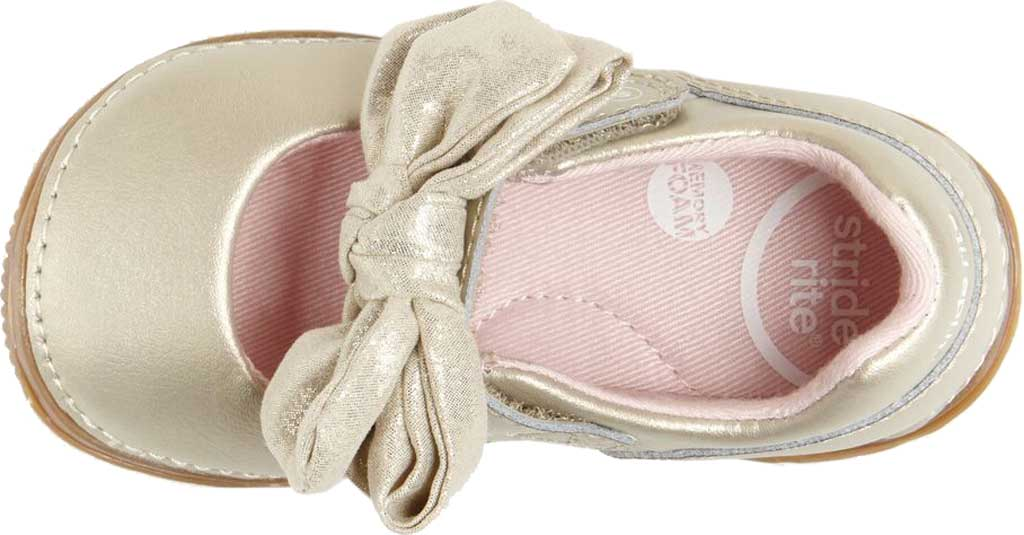 Infant Girls' Stride Rite SRT Henley Mary Jane, Champagne Leather, large, image 5