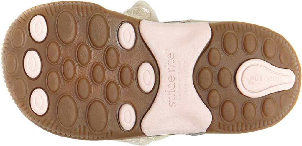Infant Girls' Stride Rite SRT Henley Mary Jane, Champagne Leather, large, image 6