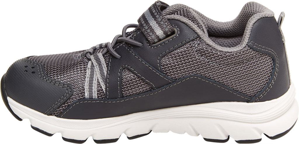 Boys' Stride Rite M2P Journey Sneaker, Grey Mesh/Leather, large, image 3