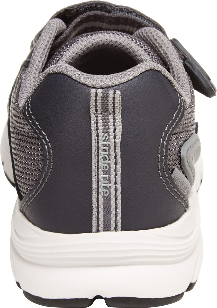 Boys' Stride Rite M2P Journey Sneaker, Grey Mesh/Leather, large, image 4