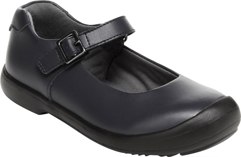 Girls' Stride Rite SR Ainsley Mary Jane, Black Leather, large, image 1