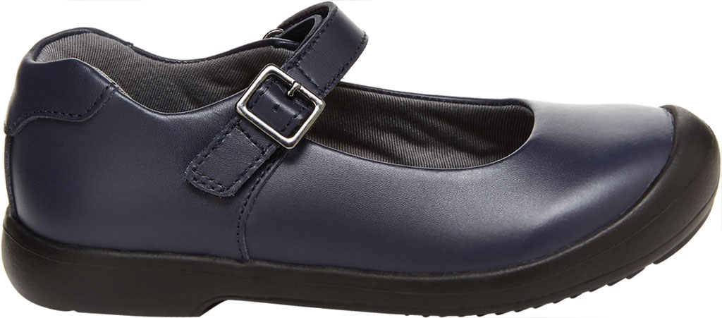 Girls' Stride Rite SR Ainsley Mary Jane, Navy Leather, large, image 2