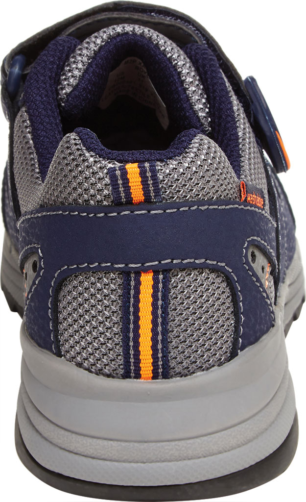 Boys' Stride Rite M2P Xander Sneaker, Navy Canvas/Leather, large, image 4
