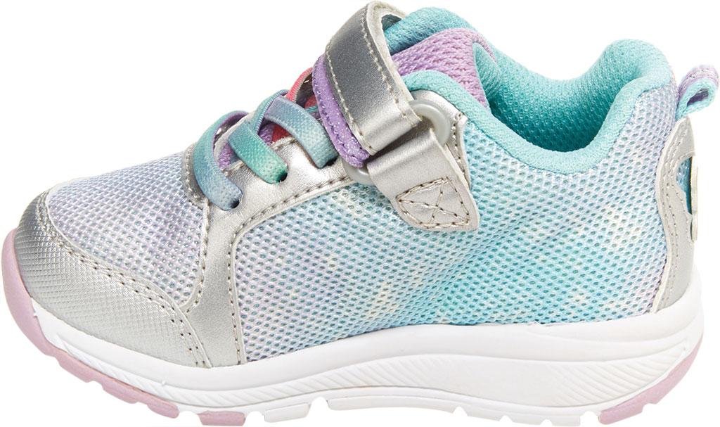 Infant Girls' Stride Rite SR Lighted Fly Away Sneaker, Multi Canvas/Mesh, large, image 3