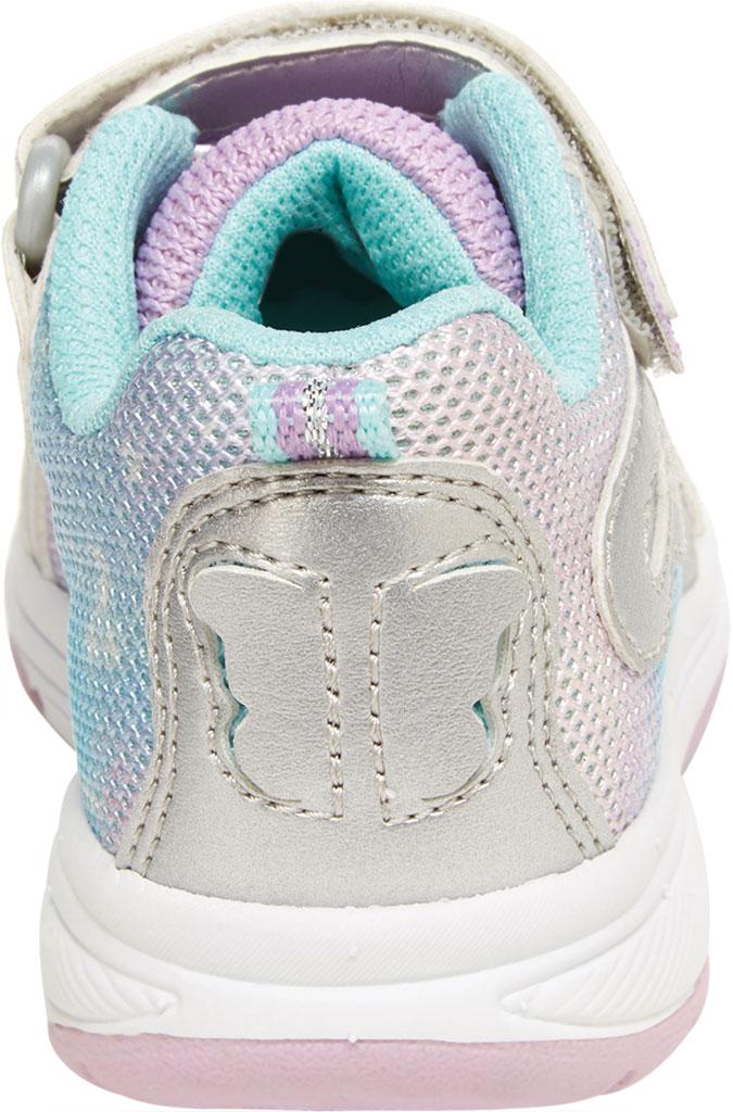 Infant Girls' Stride Rite SR Lighted Fly Away Sneaker, Multi Canvas/Mesh, large, image 4