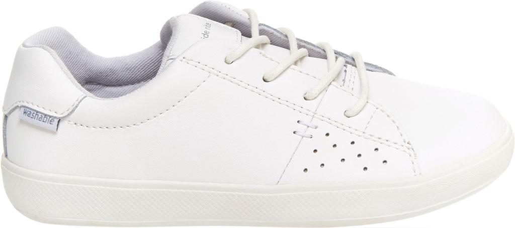 Children's Stride Rite M2P Maci Sneaker, White Leather, large, image 2