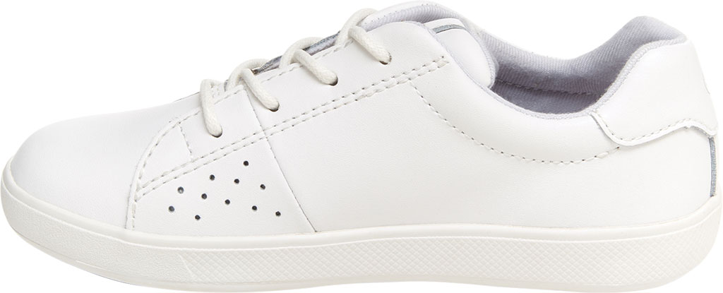 Children's Stride Rite M2P Maci Sneaker, White Leather, large, image 3