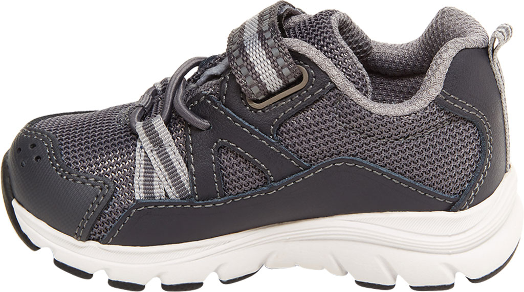 Infant Boys' Stride Rite M2P Journey Sneaker, Grey Mesh/Leather, large, image 3