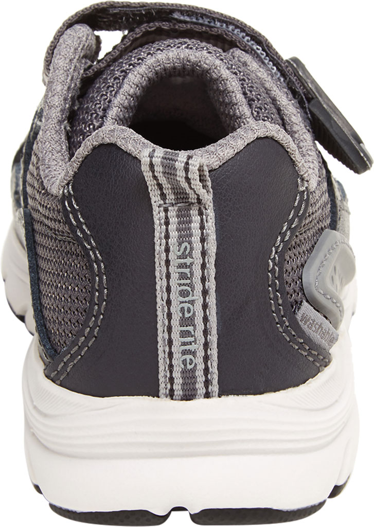 Infant Boys' Stride Rite M2P Journey Sneaker, Grey Mesh/Leather, large, image 4