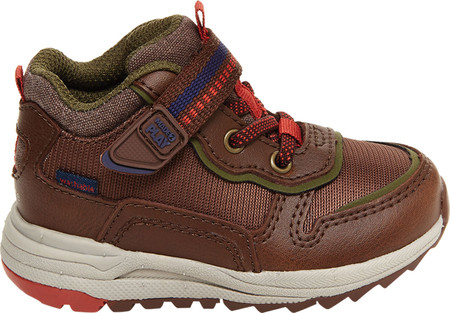 Infant Boys' Stride Rite M2P Nate Sneaker, Brown Canvas/Leather, large, image 2