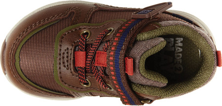 Infant Boys' Stride Rite M2P Nate Sneaker, Brown Canvas/Leather, large, image 6