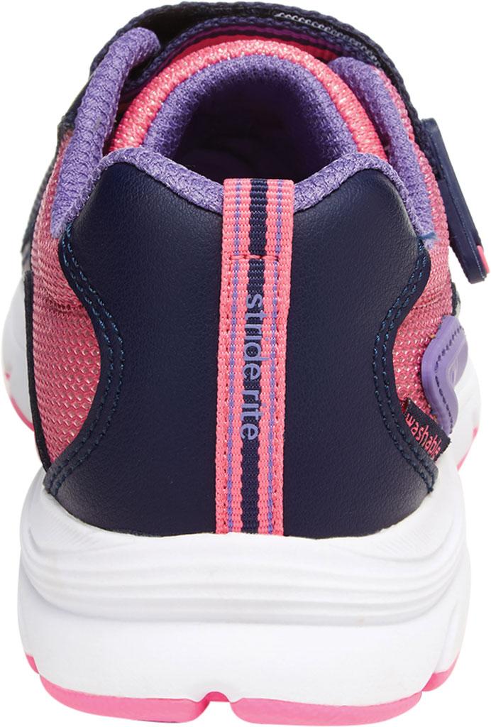 Girls' Stride Rite M2P Journey Sneaker, Purple Multi Leather/Cotton Mesh, large, image 4