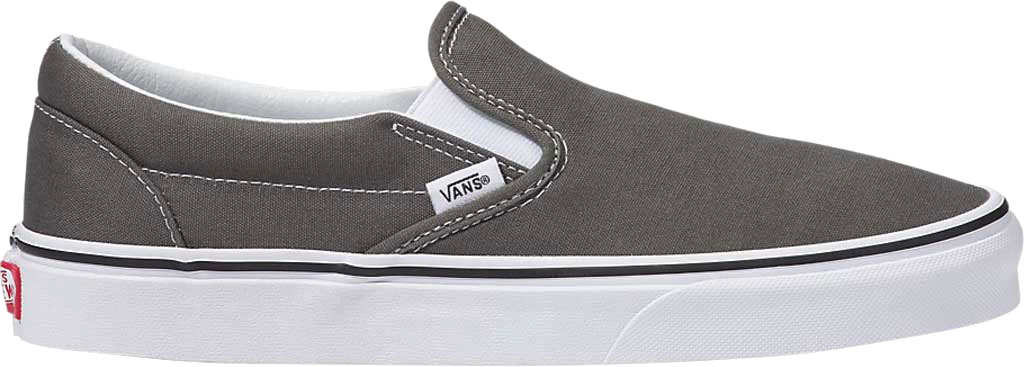 Vans Classic Slip-On, Charcoal Canvas, large, image 2