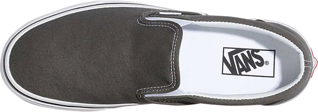 Vans Classic Slip-On, Charcoal Canvas, large, image 3