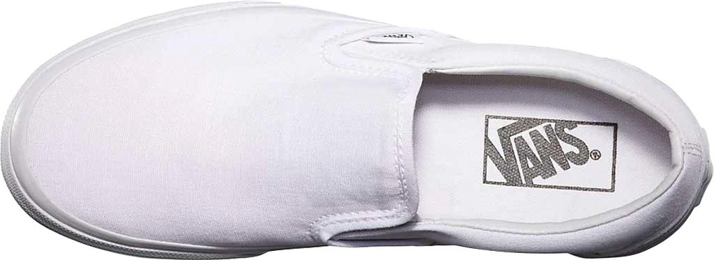 Vans Classic Slip-On, True White, large, image 3