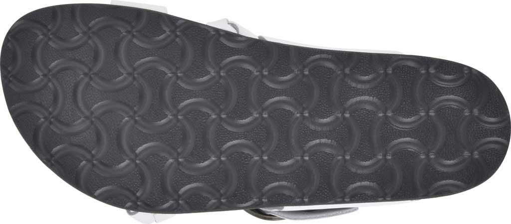 Women's White Mountain Heartfelt Strappy Toe Loop Sandal, White Action Leather, large, image 6