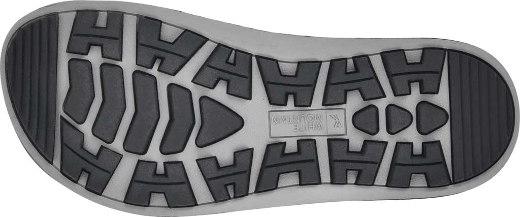 Women's White Mountain Powerful Toe Loop Sandal, Black Soft Crazy Horse Leather, large, image 6