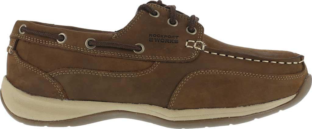 Men's Rockport Works RK6736, Brown Leather, large, image 2
