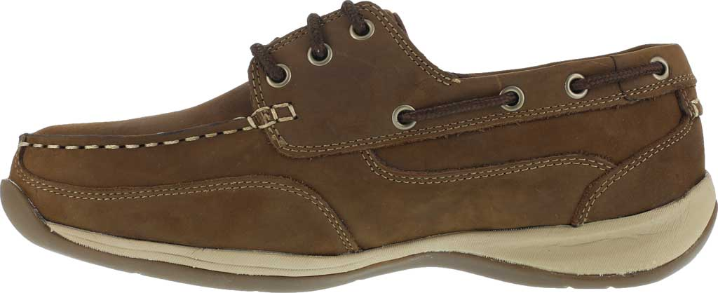 Men's Rockport Works RK6736, Brown Leather, large, image 3