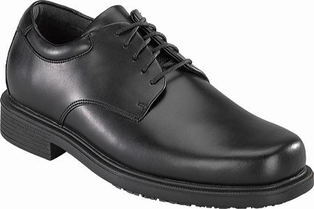Men's Rockport Works RK6522, Black Leather, large, image 1