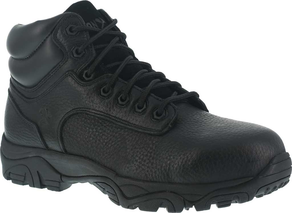 Men's Iron Age Trencher Composite Toe Work Boot IA5007, Black, large, image 1