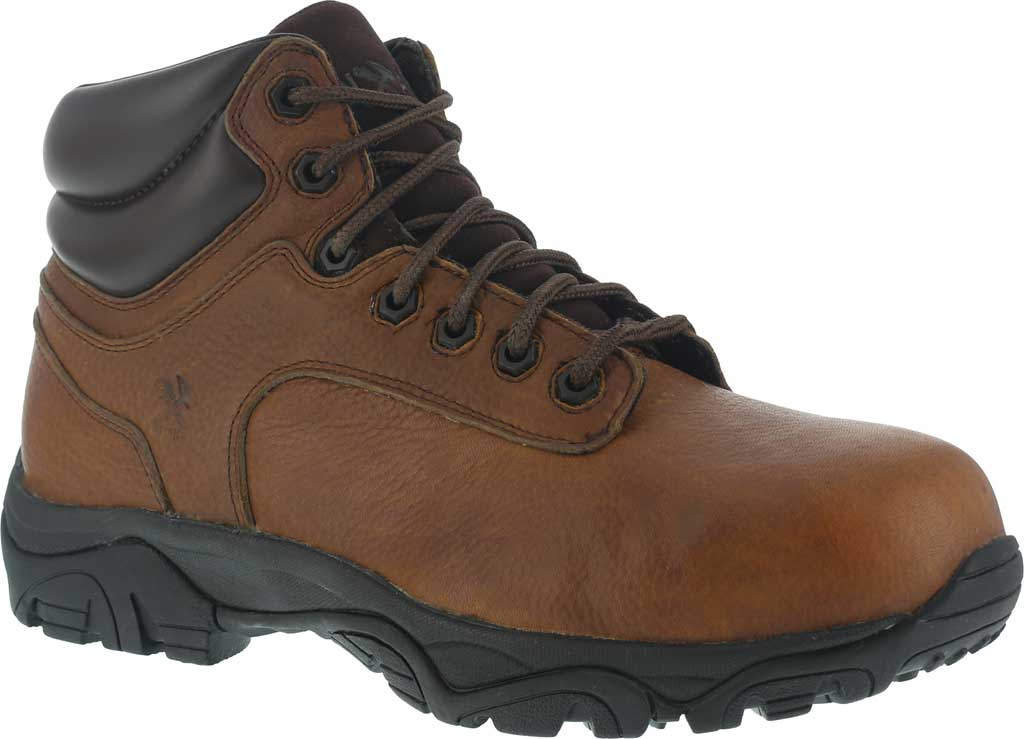 Men's Iron Age Trencher Composite Toe Work Boot IA5007, Brown, large, image 1