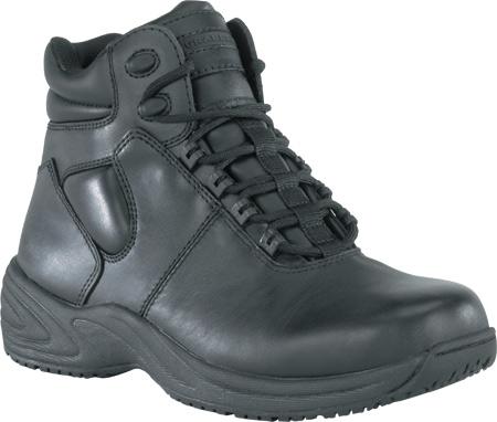 Men's Grabbers Fastener, Black Leather, large, image 1