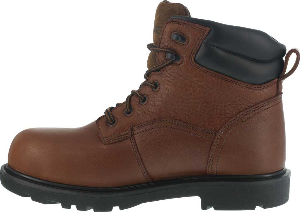 "Men's Iron Age Hauler 6"" Waterproof Work Boot IA0160, Brown Leather, large, image 3"