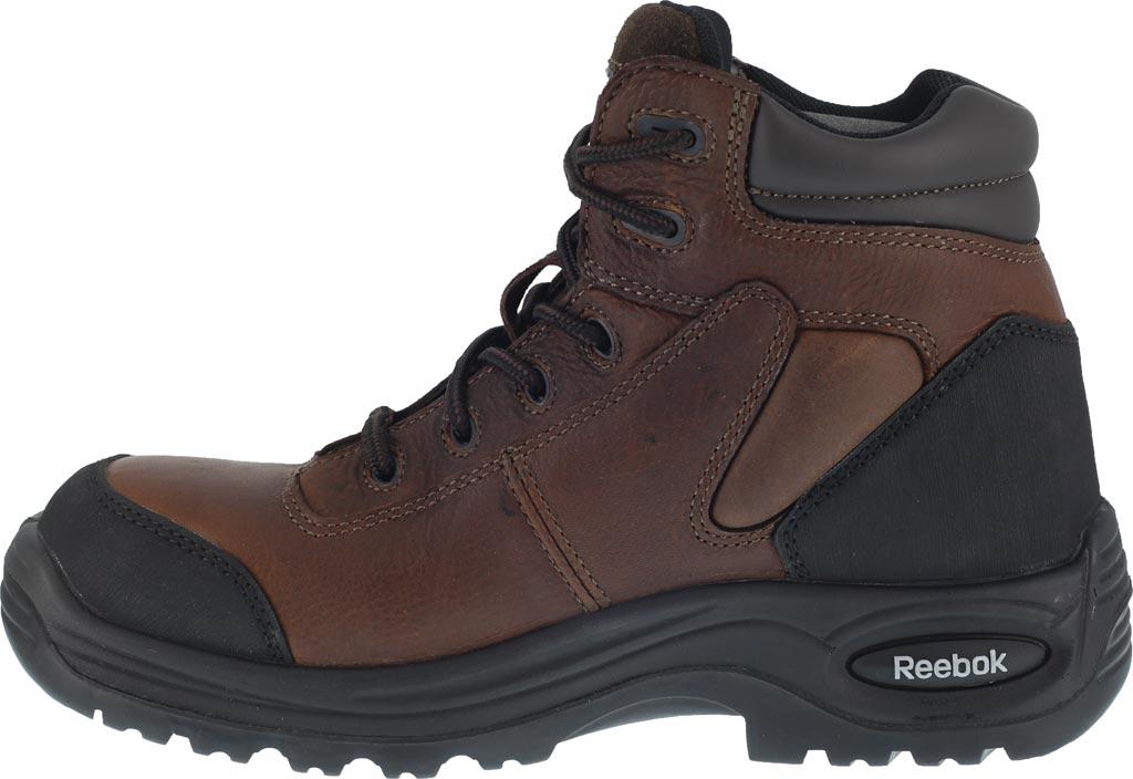 Men's Reebok Work Trainex RB7755, Brown, large, image 3