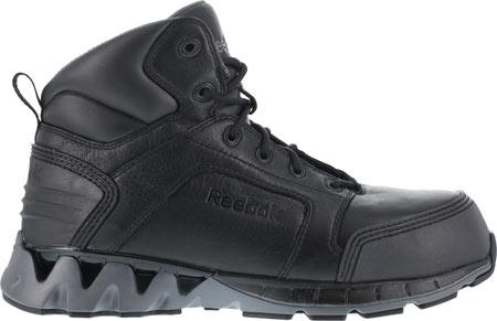 "Men's Reebok Work ZigKick Work RB7000 6"" Composite Toe Athletic Boot, Black, large, image 2"