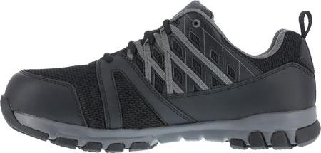 Men's Reebok Work Sublite Work RB4016 Steel Toe Sneaker, Black, large, image 3