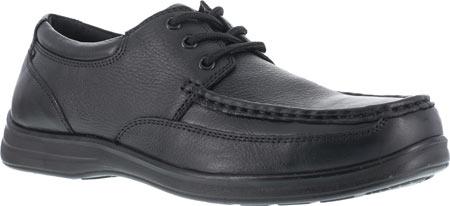 Men's Florsheim Work FS201 Wily Steel Toe ESD Oxford, Black, large, image 1