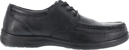 Men's Florsheim Work FS201 Wily Steel Toe ESD Oxford, Black, large, image 2