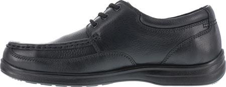 Men's Florsheim Work FS201 Wily Steel Toe ESD Oxford, Black, large, image 3
