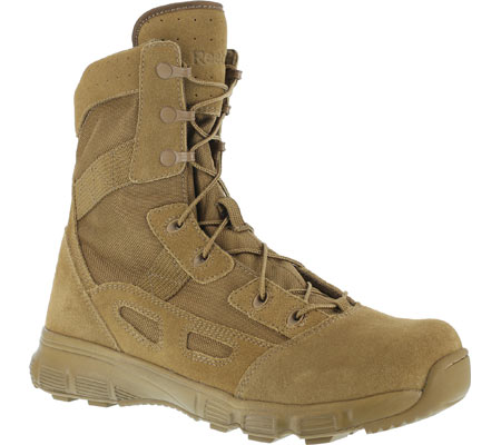 """Women's Reebok Work Hyper Velocity RB821 8"""" Ultralight Tactical Boot, Coyote, large, image 1"""
