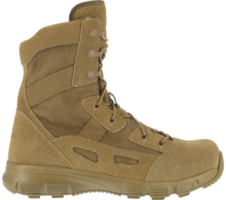 """Women's Reebok Work Hyper Velocity RB821 8"""" Ultralight Tactical Boot, Coyote, large, image 2"""