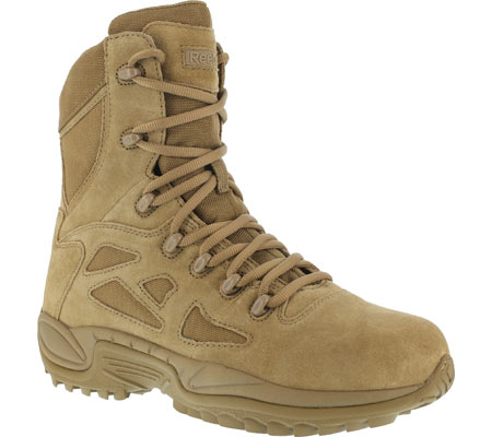 """Women's Reebok Work Rapid Response RB RB897 Stealth 8"""" Tactical Boot, Coyote, large, image 1"""